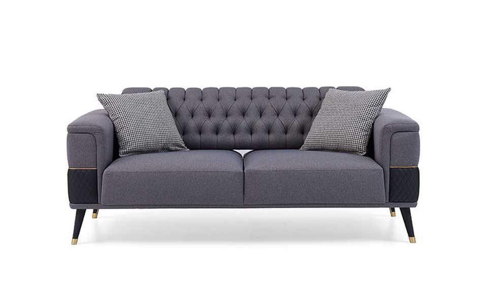 Diamond 2 Seater Sofa (With Bed)-copy