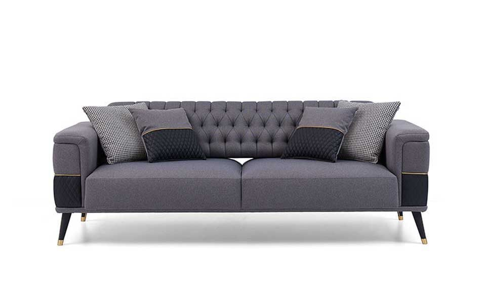 Diamond 3 Seater Sofa (With Bed)-copy